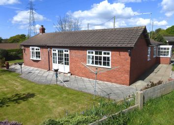 Thumbnail 3 bed detached bungalow for sale in Chester Road, Sutton Weaver, Runcorn