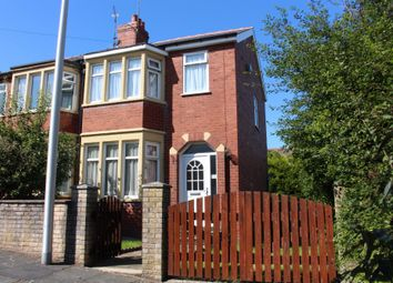 Thumbnail 3 bed semi-detached house for sale in Fordway Avenue, Blackpool, Lancashire