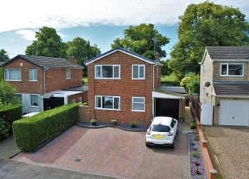 Thumbnail 3 bed detached house for sale in Pasture Road, Barrowby, Grantham