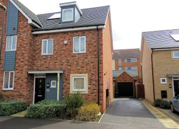 Thumbnail 3 bedroom semi-detached house for sale in Vickers Way, Wolverton, Milton Keynes