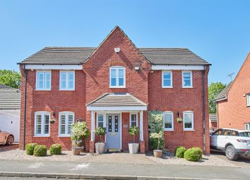 Thumbnail 5 bed detached house for sale in Barons Close, Kirby Muxloe, Leicester