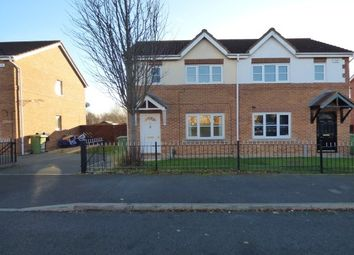 Thumbnail 3 bed semi-detached house to rent in Hive Close, Stockton-On-Tees