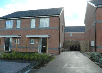 Thumbnail 2 bed semi-detached house for sale in Garrison View, Pontefract, West Yorkshire