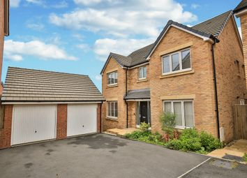 Thumbnail 4 bed detached house for sale in Harlech Road, St Lythans Park, Wenvoe, Cardiff