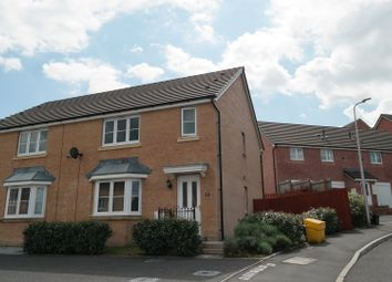 Thumbnail 3 bed semi-detached house for sale in Pen Y Dyffryn, Merthyr Tydfil