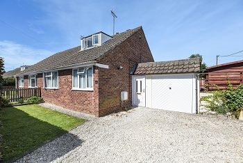 Thumbnail 3 bed semi-detached bungalow for sale in Ashley Place, Warminster, Warminster, Wiltshire