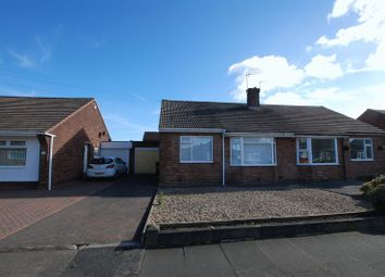 Thumbnail 2 bed semi-detached bungalow for sale in Canterbury Way, Wideopen, Newcastle Upon Tyne