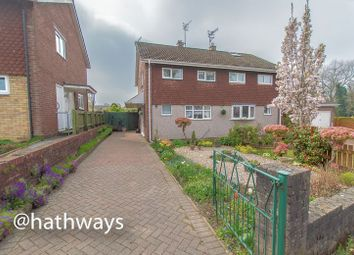 Thumbnail 2 bedroom semi-detached house for sale in Dunraven Road, Llanyravon, Cwmbran