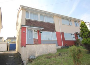 Thumbnail 3 bed semi-detached house for sale in Dudley Road, Plympton, Plymouth
