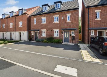 Thumbnail 3 bed town house for sale in Great Northern Gardens, Bourne