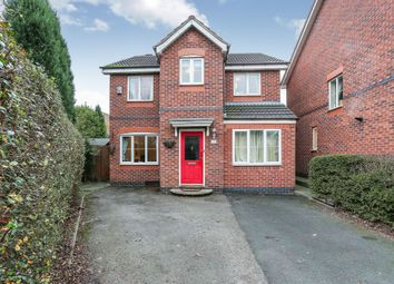 Thumbnail 4 bed detached house for sale in Eagle Lane, Tipton