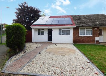 Thumbnail 2 bed semi-detached bungalow for sale in Carroll Close, Newport Pagnell, 0