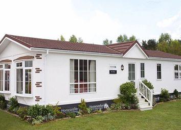 Thumbnail 2 bed mobile/park home for sale in Glendene Park, Bashley Cross Road, New Milton