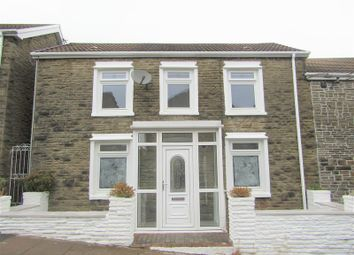 Thumbnail 4 bed terraced house for sale in Heolddu Road, Bargoed