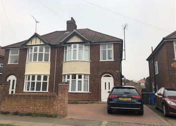 Thumbnail 3 bed semi-detached house for sale in Wroxham Road, Ipswich