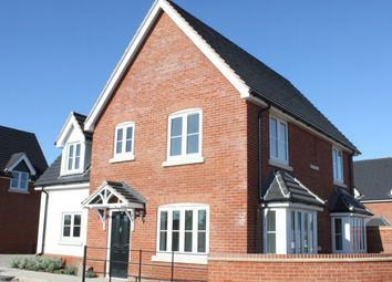 Thumbnail 3 bed detached house to rent in Grange Road, Tiptree, Colchester