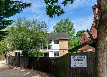 Thumbnail 2 bed flat for sale in Connaught Road, Brookwood, Brookwood, Woking