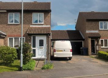 Thumbnail 2 bed semi-detached house for sale in Jellicoe Place, Eaton Socon, Cambridgeshire