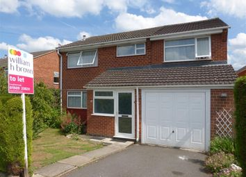 Thumbnail 5 bed detached house to rent in Maclean Avenue, Loughborough