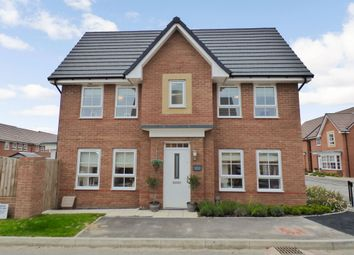 Thumbnail 3 bed detached house for sale in Cooper Way, Morpeth