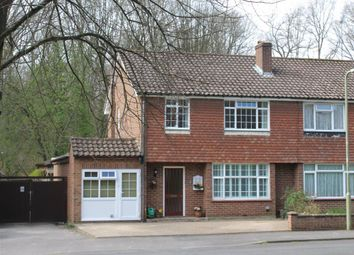 Thumbnail 3 bedroom semi-detached house for sale in Rowhill Crescent, Aldershot