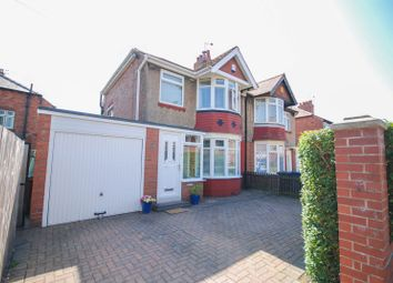 Thumbnail Semi-detached house for sale in Chatsworth Gardens, Westerhope, Newcastle Upon Tyne