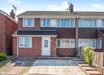 Thumbnail 4 bed semi-detached house for sale in Helston Avenue, Halewood, Liverpool