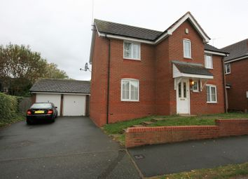 Thumbnail 4 bed detached house for sale in Fernbank Crescent, Walsall, West Midlands