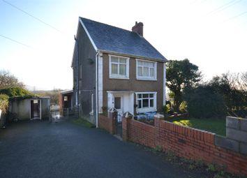 Thumbnail 3 bed detached house for sale in Meinciau Road, Mynyddygarreg, Kidwelly