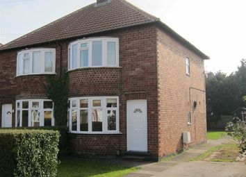 Thumbnail 2 bed semi-detached house to rent in Beardsmore Grove, Hucknall, Nottingham