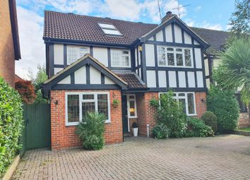 Thumbnail 4 bed detached house for sale in Burne-Jones Drive, College Town, Sandhurst