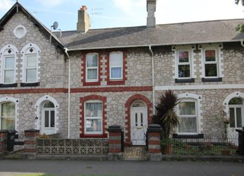 Thumbnail 2 bedroom terraced house for sale in The Avenue, Newton Abbot