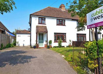 Thumbnail 3 bed semi-detached house for sale in Flansham Lane, Flansham, Bognor Regis, West Sussex
