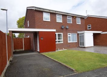 Thumbnail 2 bed semi-detached house for sale in Heatherdale Close, Gwersyllt, Wrexham
