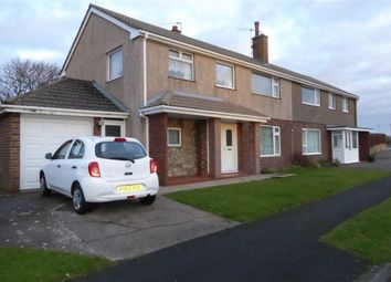 Thumbnail 4 bed semi-detached house for sale in Coniston Avenue, Seascale