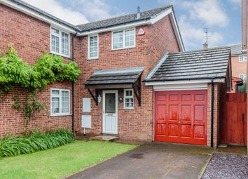 Thumbnail 3 bed semi-detached house for sale in Kingsdown Close, Basildon, Essex
