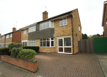 Thumbnail 3 bed semi-detached house to rent in Spencefield Drive, Leicester