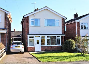 Thumbnail 3 bed detached house for sale in Hazelhead Road, Anstey, Leicester