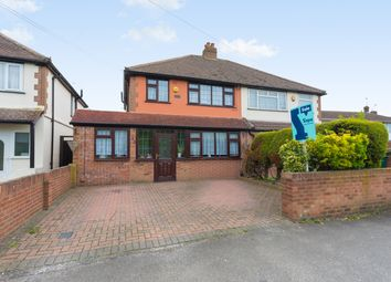 Thumbnail 3 bed semi-detached house for sale in Town Lane, Stanwell, Staines