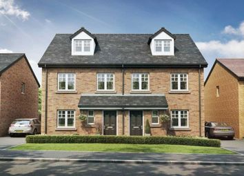 Thumbnail 4 bed semi-detached house for sale in Grasmere Avenue, Farington, Leyland