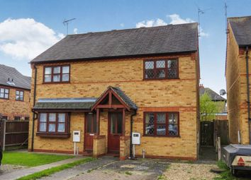 Thumbnail 2 bedroom semi-detached house for sale in Burghley Court, Bourne