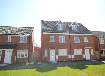 Thumbnail 4 bed semi-detached house for sale in Muskett Way, Aylsham, Norwich
