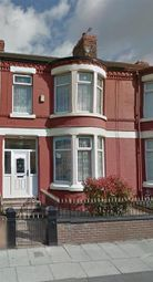 Thumbnail 5 bed terraced house to rent in Walton Hall Avenue, Walton, Liverpool