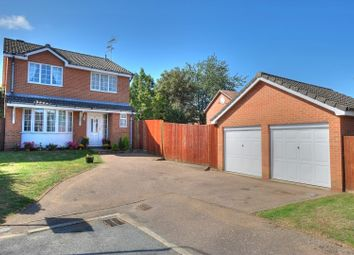Thumbnail 4 bed detached house for sale in Hazel Close, Norwich