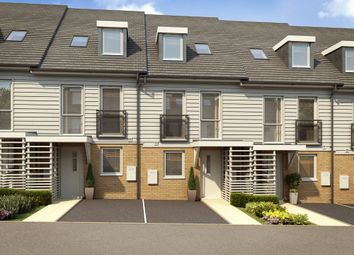 "Thumbnail 4 bed terraced house for sale in ""Rochester"" at Temple Hill, Dartford"