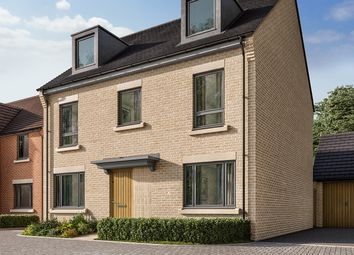 "Thumbnail 4 bed detached house for sale in ""The Fordham"" at Heron Road, Northstowe, Cambridge"