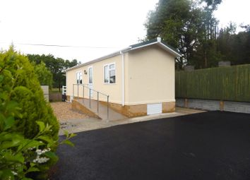 Thumbnail 1 bed lodge for sale in Cannisland Park, Parkmill, Swansea