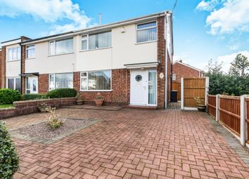 Thumbnail 3 bed semi-detached house for sale in Dore Avenue, North Hykeham, Lincoln