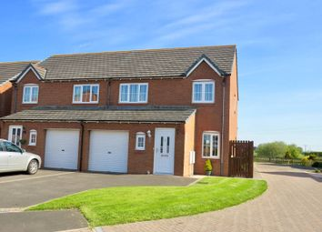 3 bed semi-detached house for sale in Greenrow Meadows, Silloth, Wigton CA7