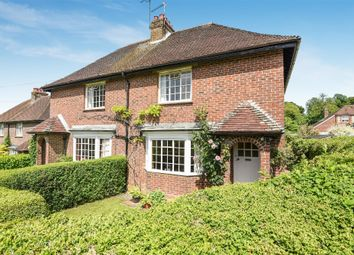 Thumbnail 3 bed semi-detached house for sale in New Cottages, Avington, Winchester, Winchester, Hampshire